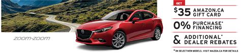mazda deals canada mazda canada summer test drive experience free 35 amazon