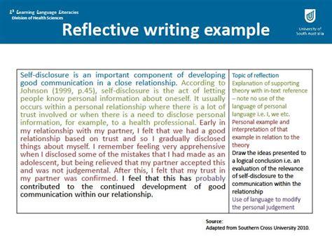 reflective statement example student essays argumentative essay