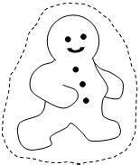 printable gingerbread man paper bag puppet stories for the classroom on pinterest the mitten