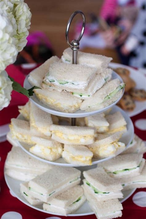 Finger Food Sandwiches Baby Shower by Finger Foods Sandwiches And Tea Baby Shower On