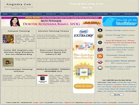 cara membuat blog lewat hp blackberry aingindra com informasi harga blackberry dan cara