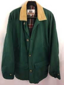 corduroy barn coat mens green canvas flannel lined barn chore field coat