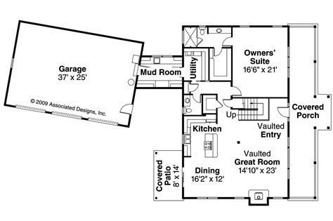 cabin style homes floor plans lodge style house plans elkton 30 704 associated designs