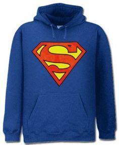 Sweater Hoodie Anak Superman Station Apparel superman s blue jersey tank top xl superman t shirts sweat shirts all things