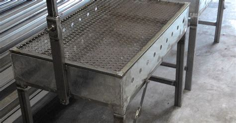 Pemanggang Kambing awning pagola dan grill membuat set bbq alat
