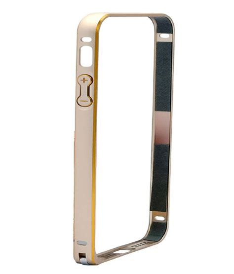 bumper list gold iphone 5g 5s nicedeal bumper cover for apple iphone 5 5g 5s gold
