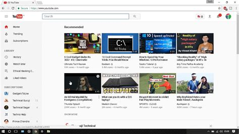 youtube no layout how to go back on old youtube layout for pc from new