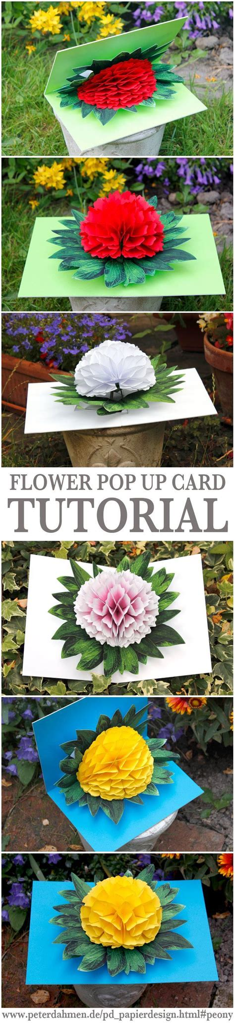 flower pop up card templates dahmen 10 creative diy s day gift ideas card tutorials