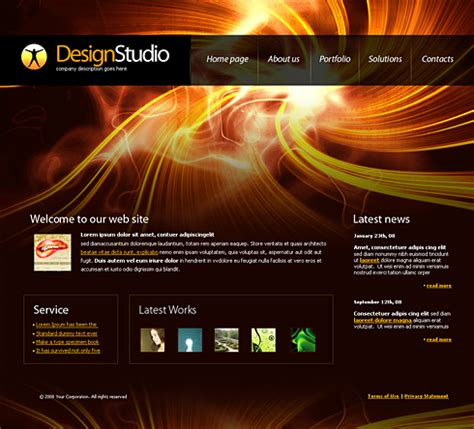 Homepage Design Vorlagen Html 4191 Web Design Consulting Website Templates Dreamtemplate