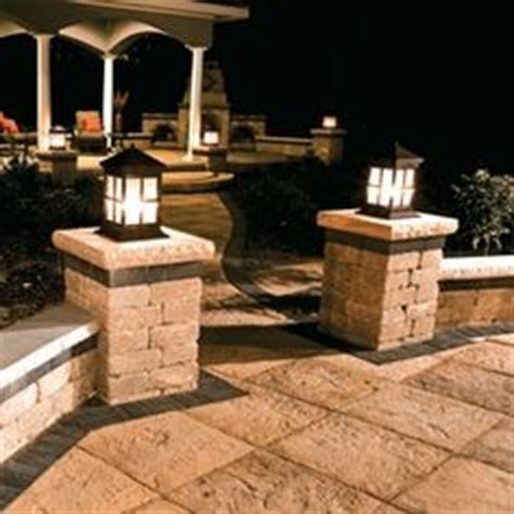 1000 images about patio pavers on columns