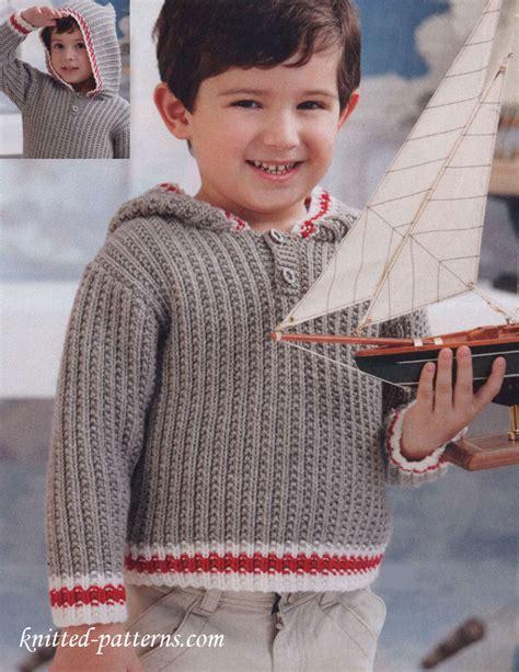 knitting pattern hoodies free child s hoodie knitting pattern