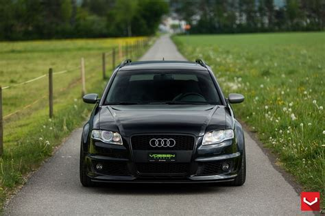 audi wagon black vossen wheels gallery audi rs4 cars wagon black wallpaper