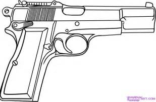 how to draw doodle guns how to draw a pistol step by step guns weapons free
