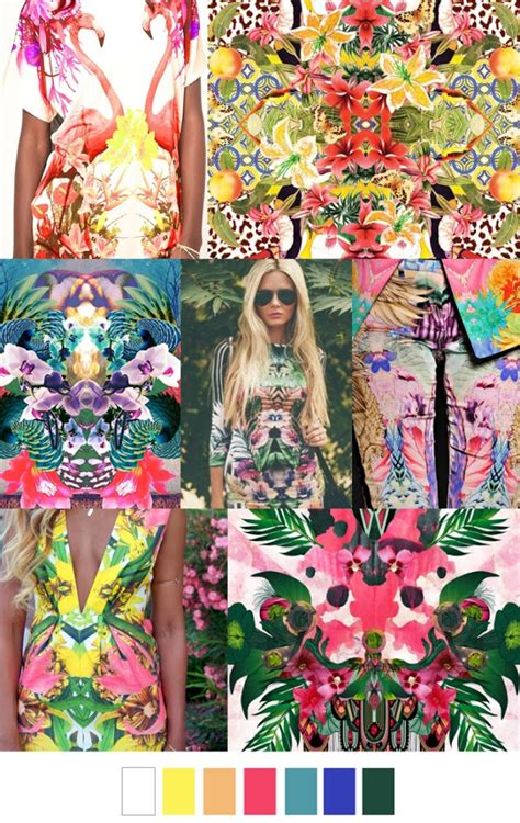 color pattern fashion trends pattern curator print inspirations ss 2016