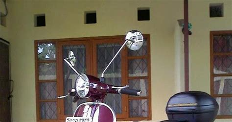 Modifikasi New Vespa by Modifikasi Vespa New Px 150 Srj Modification Bikerz