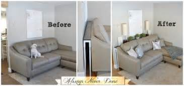 Narrow Sectional Sofa 30 Ingenious Diy Project Ideas For Small Spaces List