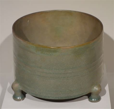 song ware file tripod vessel ru ware china northern song dynasty