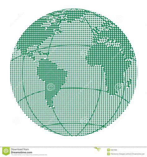 dot pattern globe globe halftone dots royalty free stock image image 5327356