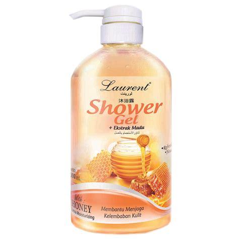 Gel Tambahan shower gel honey 1000ml laurent cosmetics