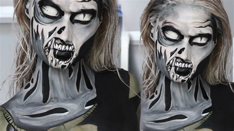 tutorial trucco zombie the walking dead the walking dead comic zombie makeup tutorial best of