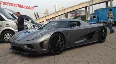 koenigsegg agera r matte black koenigsegg agera r is matte gray in china carnewschina com