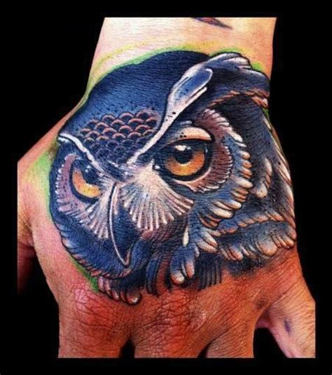 owl finger tattoo 30 beautiful owl tattoos with facts and meanings tattoodo