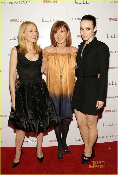 patricia clarkson is she married rachel mcadams gets used to married life photo 976691