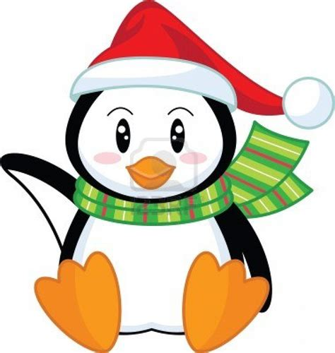 clip art holiday penguins clipart 65