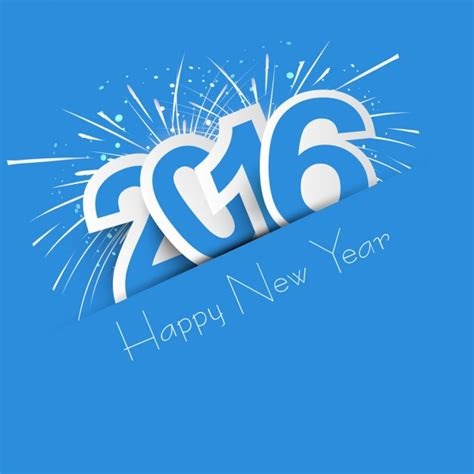 new year 2016 when is it new year 2016 card vector free