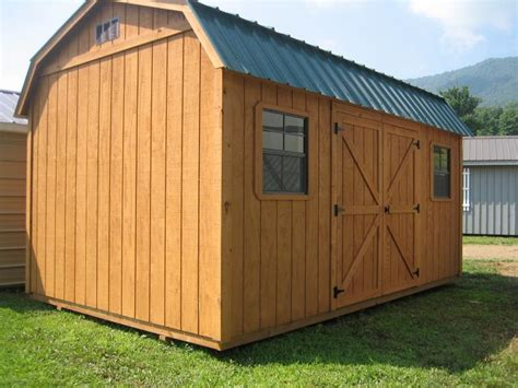 Wooden Storage Buildings Shelters Unlimited Storage Buildings