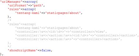 mengatur layout yii membuat halaman statis di yii framework