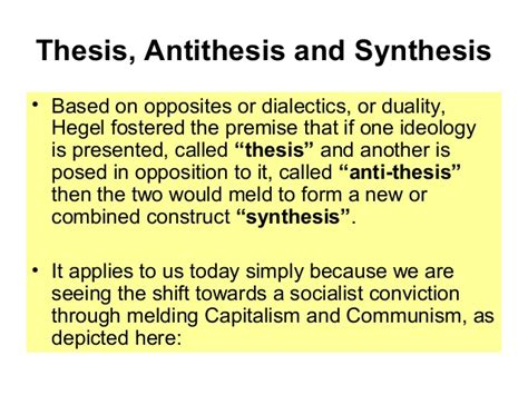 thesis and anti thesis thesis antithesis and synthesis in periodontal and