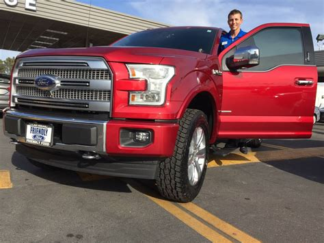 ford manager friendly ford sales manager purchases f 150 platinum model