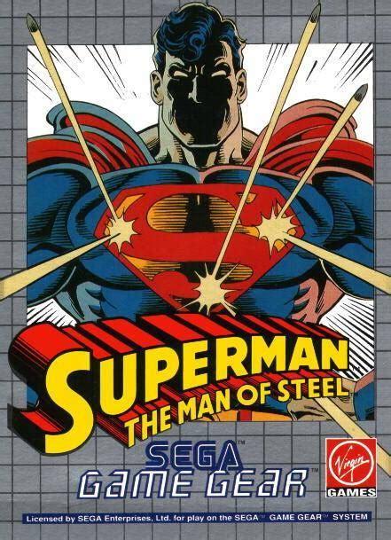 sega genesis superman play superman the of steel sega gear