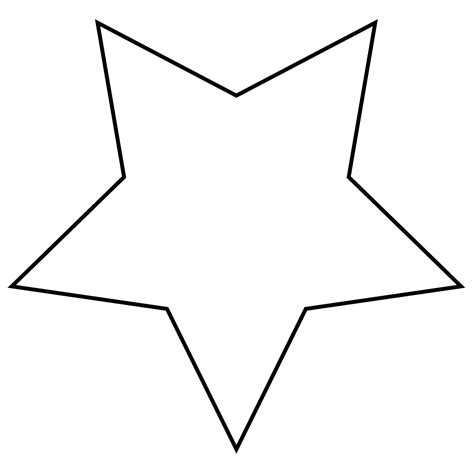 large star template printable cliparts co fine hollywood star template images documentation