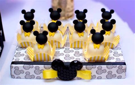 8564 Yellow Mickey Mouse kara s ideas yellow gold mickey mouse birthday