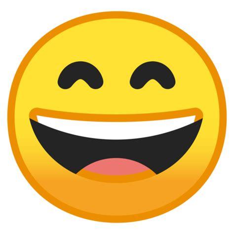 imagenes de un emoji feliz grinsendes gesicht mit lachenden augen emoji