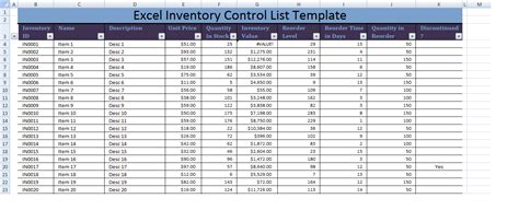 inventory list template excel petty voucher template word