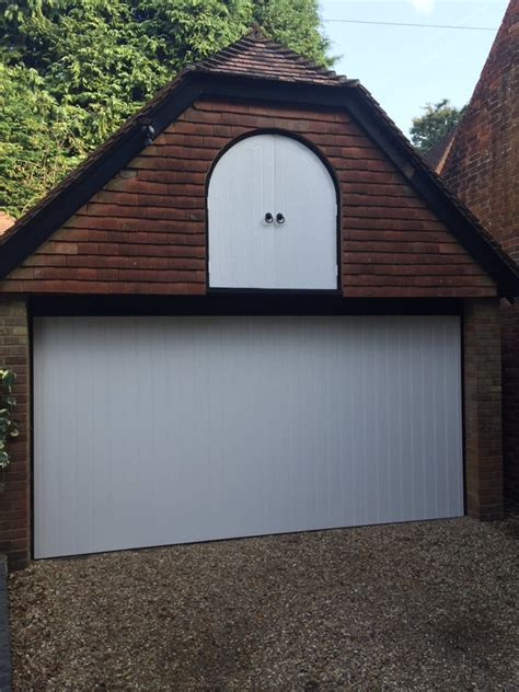 3 door garage one of our customers is delighted with their beautiful