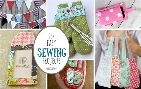 top 25 sewing projects of 25 easy sewing projects