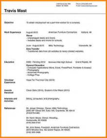 Blank Resume Template Word by 9 Blank Resume Template Doc Cashier Resumes
