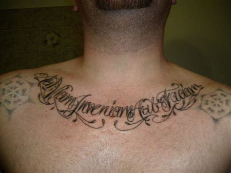 latin tattoos for men quotes for quotesgram