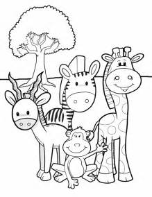 Galerry animals coloring book pdf