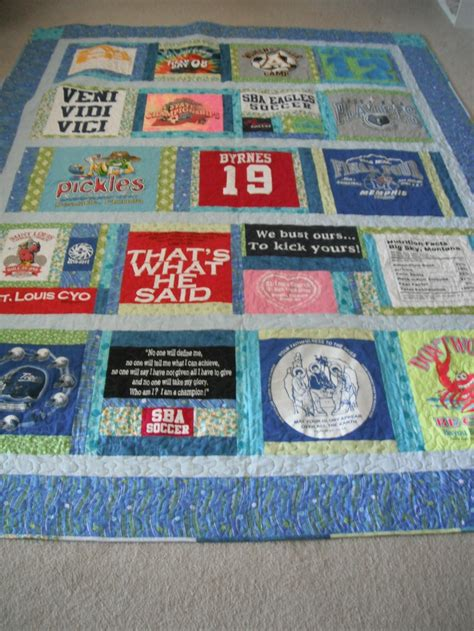 Quilting T Shirt by T Shirt Quilt Kiddos