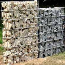 gartenzaun metall mit steinen gefüllt zaungabionen gitter zaun gabionenzaun gabionenz 228 une