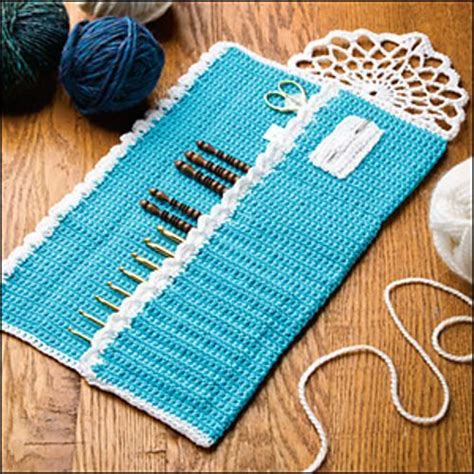 design pattern hook lace trimmed hook case pattern by jennifer cirka jaybird