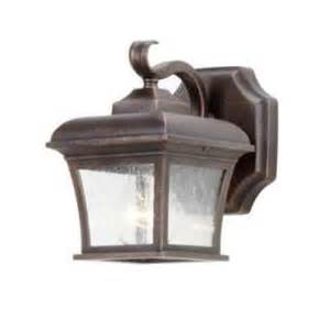 Homedepot Solar Lights - hampton bay wall mount outdoor solar light fixture 79257 at the home