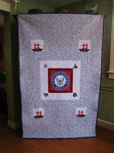 Us Navy Quilt by The Vintage Seamstress Veteran S Us Navy Quilt Plus A