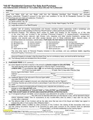 Sle Apartment Lease Agreement Florida 2010 Form Fr Asis 1 Fill Printable Fillable