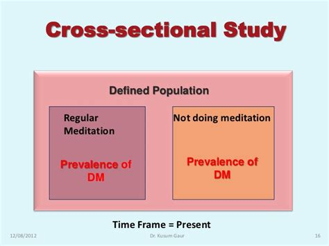 How To Design A Cross Sectional Study by Study Design In Research